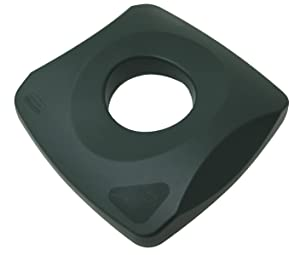 Rubbermaid Commercial Products Untouchable Recycling Bottle Lid, Green (FG269100GRN)