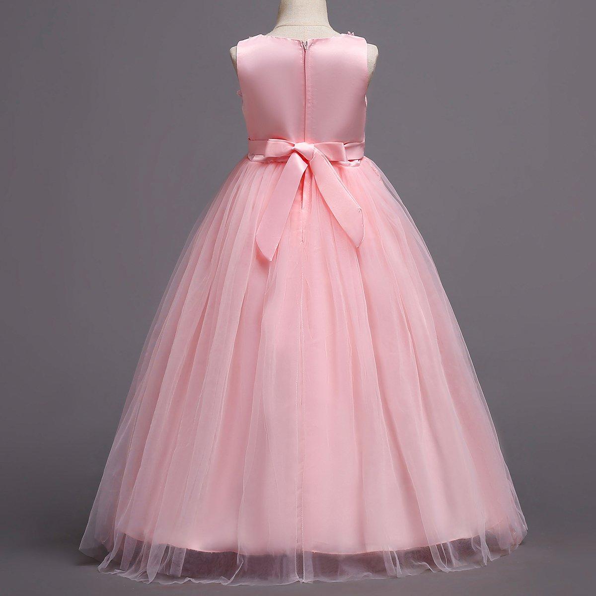 IBTOM Blush CASTLE Vestido noche, de Tulle Retro, Pink Vestido de ...