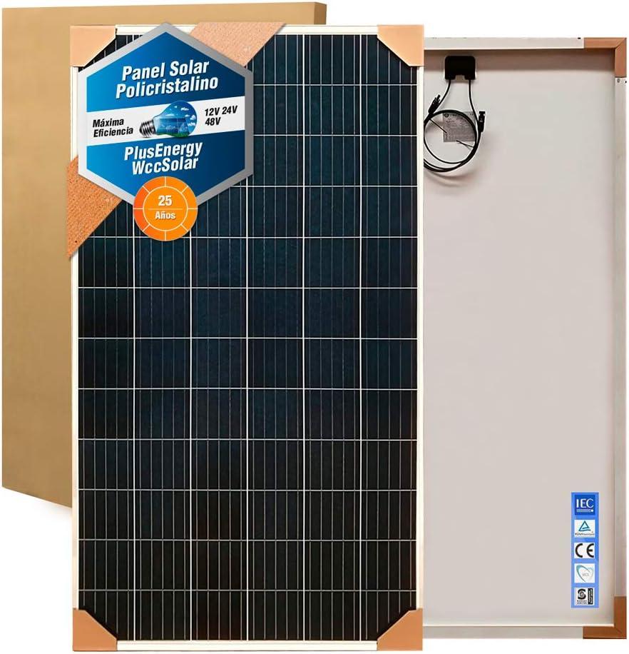 Panel Solar 330w Placa Solar Fotovoltaico Polycrystalline para 24v 48v