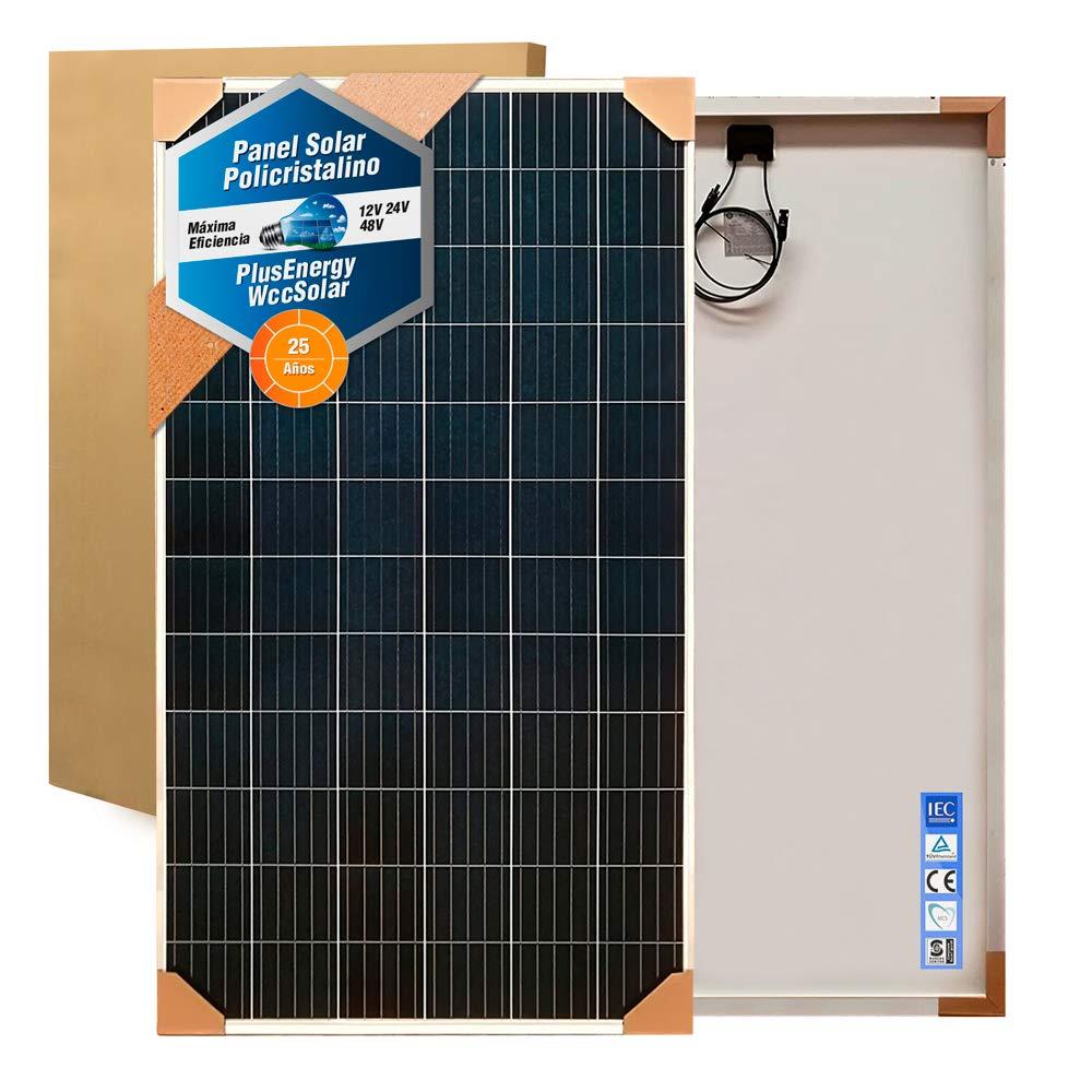 Panel Solar 150w 250w 300w 330w Placa Solar Polycrystalline 12v 24v 48v (250w Poly)