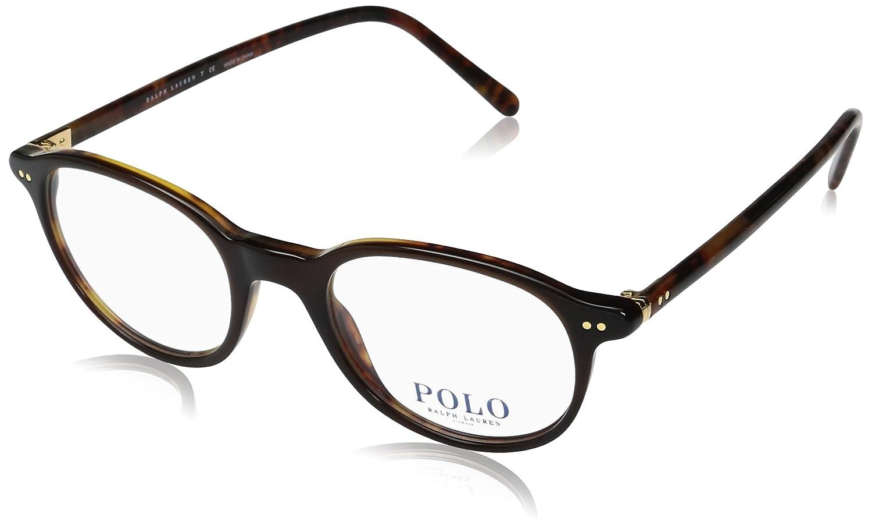 ad18948215d Amazon.com  Polo Ralph Lauren PH2047 Eyeglasses Top Brown   Yellow Havana  48mm  Clothing