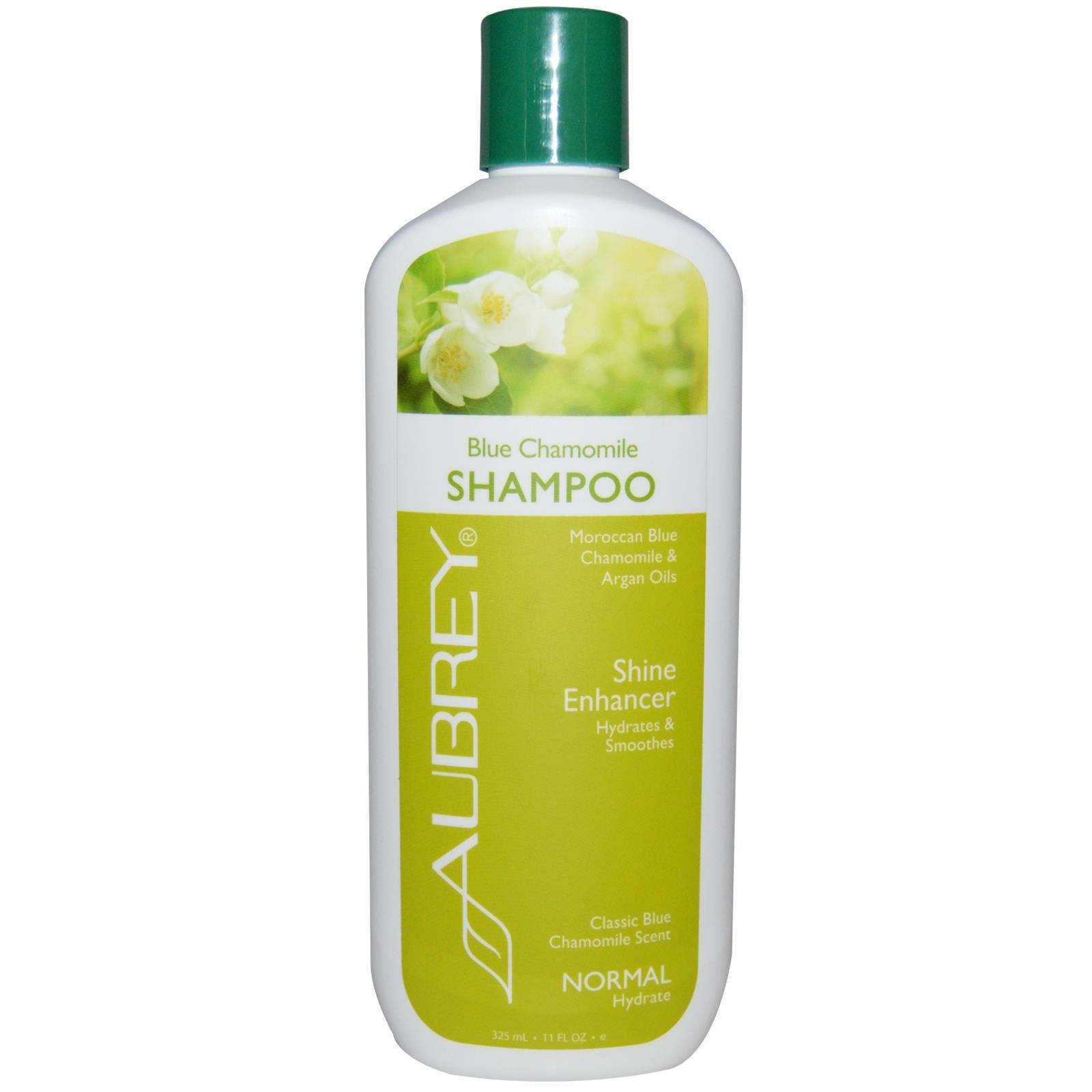 Aubrey Organics Blue Chamomile Hydrating Shampoo - 11 oz