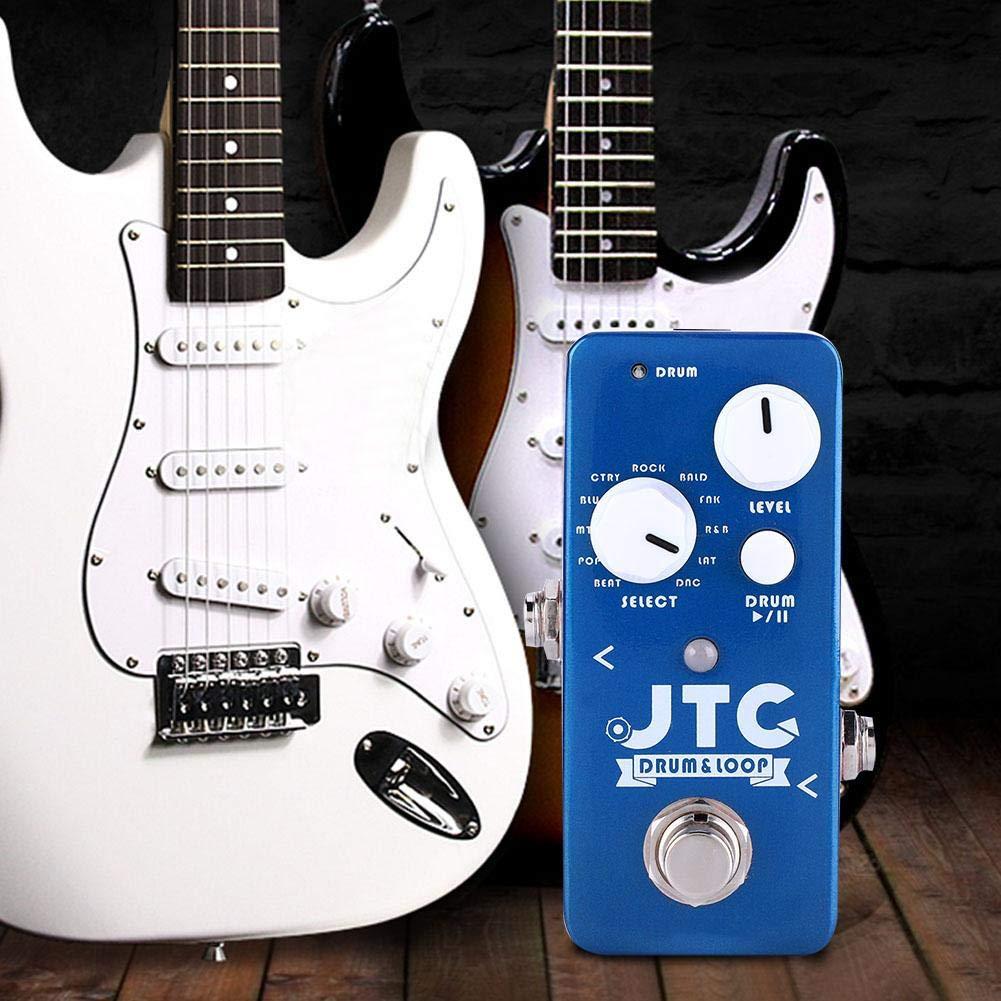 Dilwe Efector de Guitarra, Mini Bucle de Grabación Receptor ...