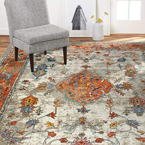 Home Dynamix Nicole Miller Parlin Aster Area Rug 5'3″x6'9″