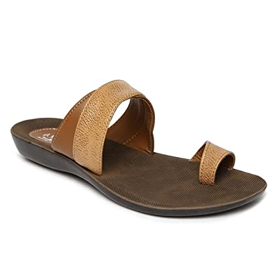 0331a760f0de PARAGON SOLEA Women s Brown Flip-Flops  Buy Online at Low Prices in India -  Amazon.in