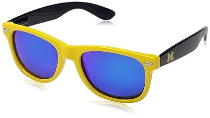 Amazon.com: society43 NCAA – Gafas de sol, Color Michigan ...