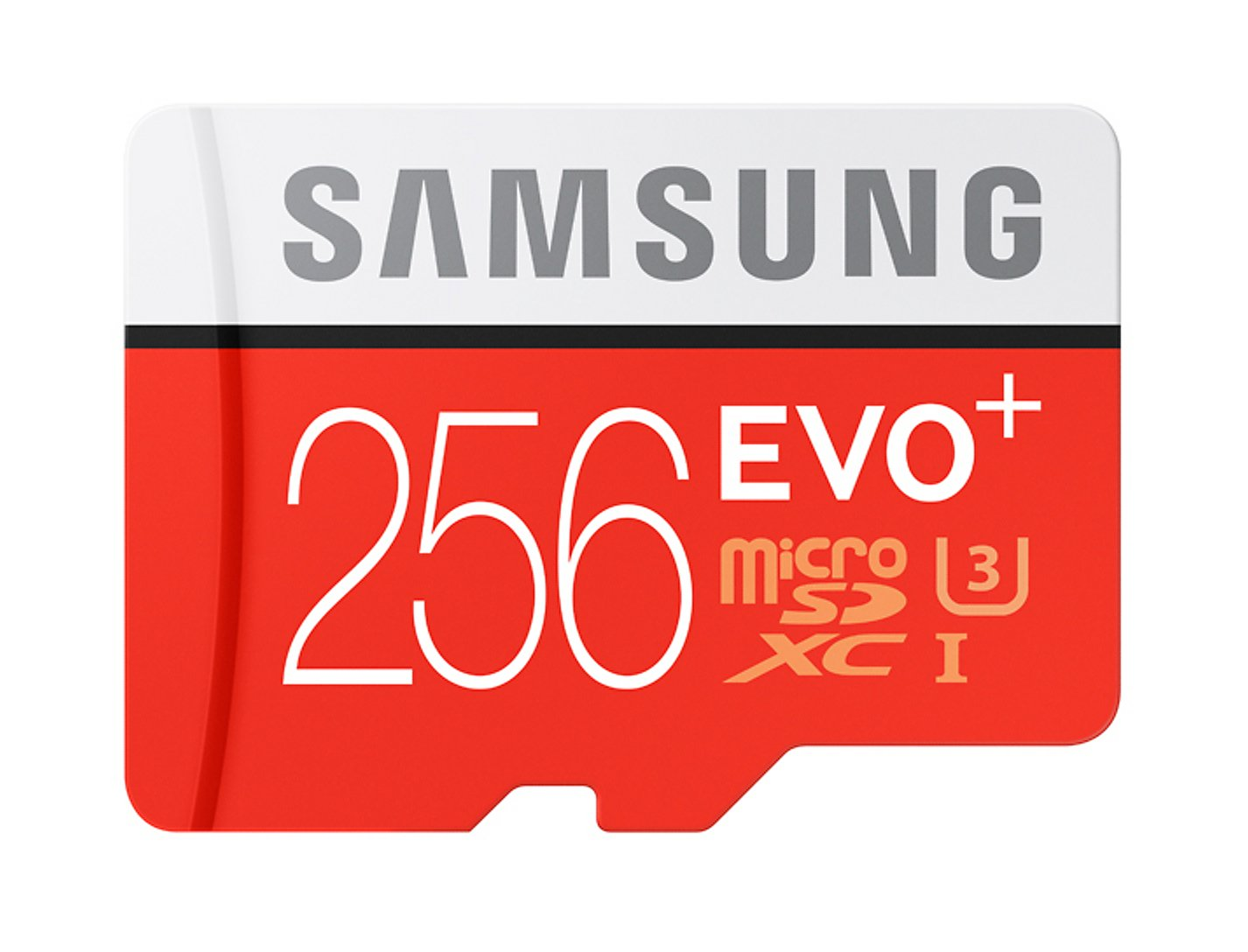Samsung EVO+ 256GB UHS-I microSDXC U3 Memory Card with Adapter (MB-MC256DA/AM)