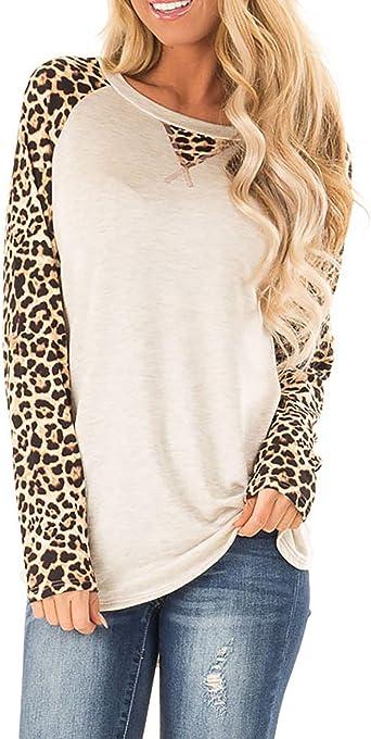 Photno Womens Camouflage Color Block Pocket Blouse Round Neck Raglan Long Sleeve Tunic Casual Loose T Shirt Basic Shirt Tops