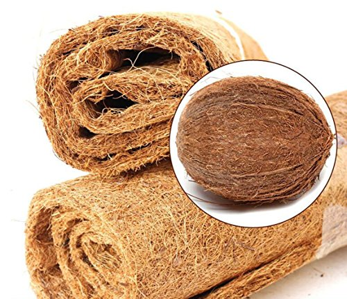Tfwadmx 16''X8'' Coconut Fiber Mat Reptiles Carpet Reptiles Cage Mat Substrate for Lizards/Turtles/Snakes Iguana Supplies