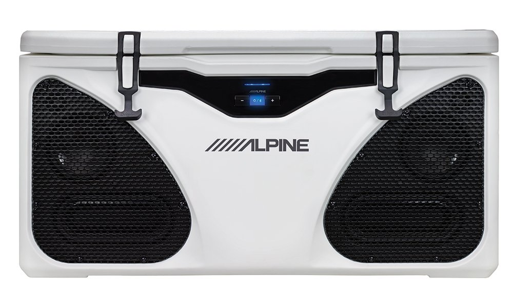 Alpine Electronics Ice (in-Cooler Entertainment) System, White, One Size