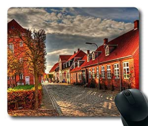 Amsterdam City Masterpiece Limited Design Oblong Mouse Pad by Cases & Mousepads wangjiang maoyi