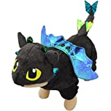 UHeng Funny Pet Dog Cat Halloween Clothes Apparel Fly Dragon Cosplay Costume