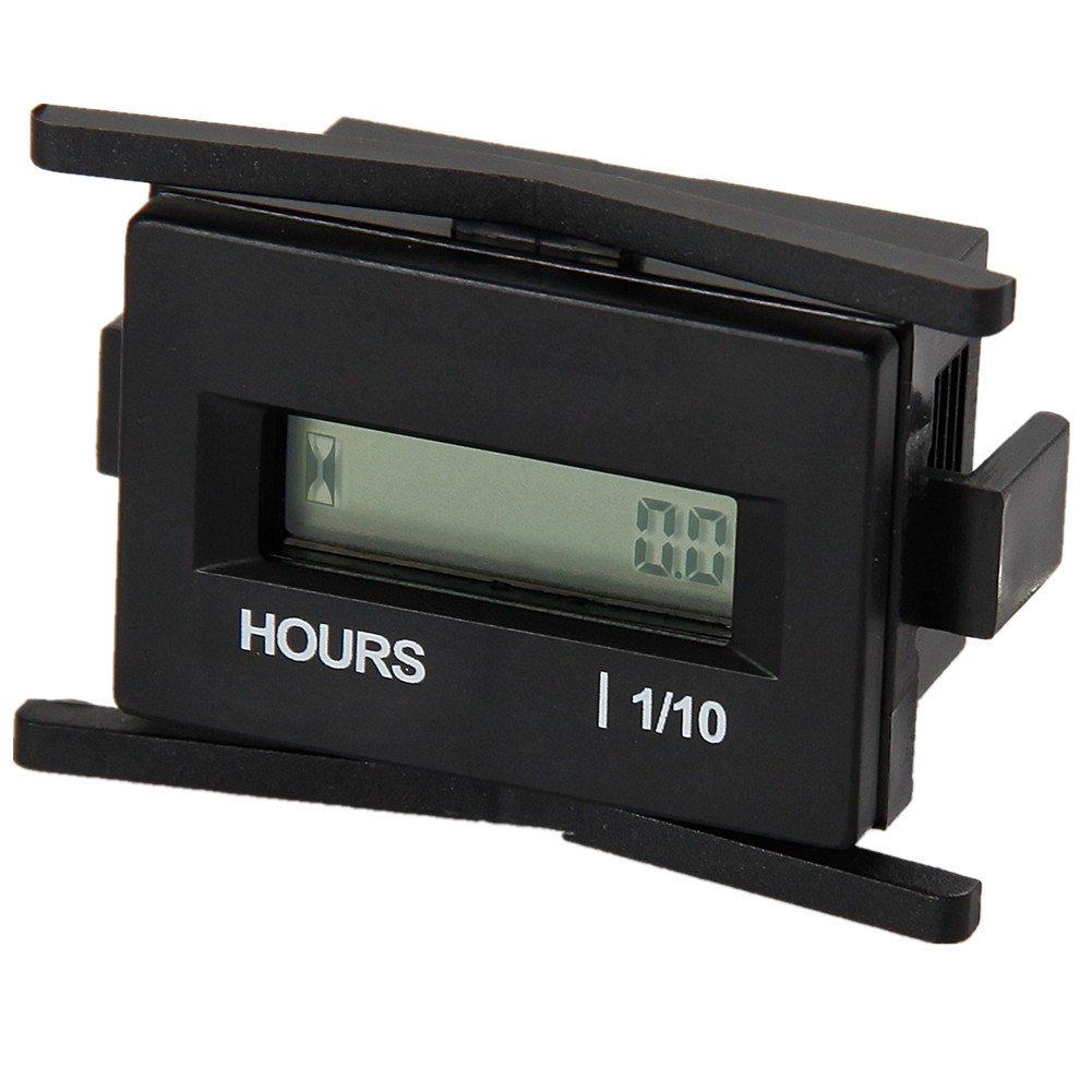 Digital Hour Meter : Searon dc v digital hour meter gauge for