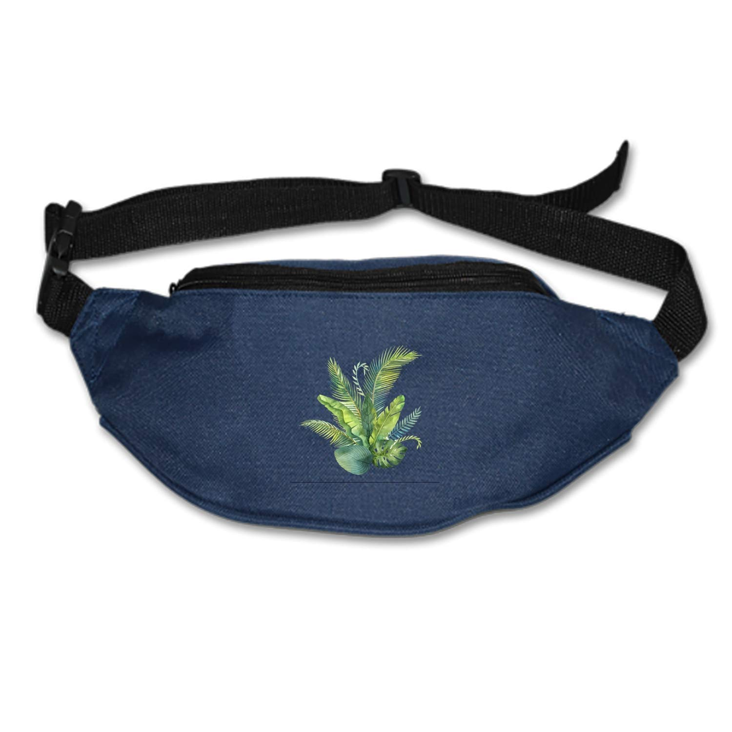 Spanwell Waist Bag Watercolor-bouquet Fanny Pack Stealth Travel bum Bags Running Pocket For Men Women
