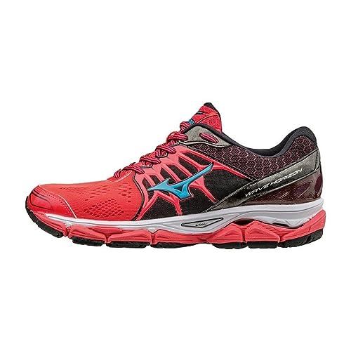 Mizuno Wave Horizon - Zapatillas de Running para Mujer, Color Rosa, Talla 4 UK: Amazon.es: Zapatos y complementos