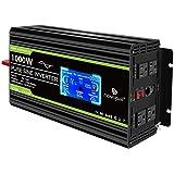 Novopal Power Inverter Pure Sine Wave-1000 Watt 12V DC to 110V/120V AC Converter- 4 AC Outlets Car Inverter with 1 USB Port-1