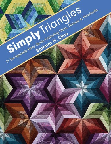 (Simply Triangles: 11 Deceptively Easy Quilts Featuring Stars, Daisies & Pinwheels)