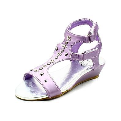SendIt4Me Lilac High Heel Suedette Wedge Court Shoes Rn7JiyW1F