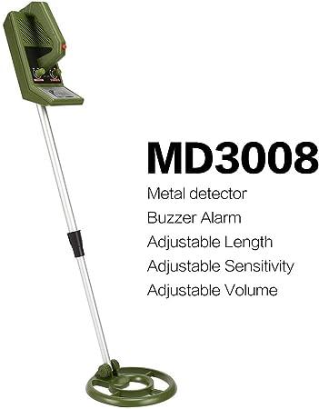 MD3008 mini detector de metales de mano portátil profesional para ...