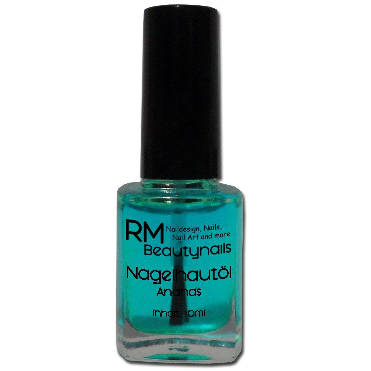 RM Beautynails Nagelöl Nagelhautpflegeöl Nagelhautöl Duft: Ananas