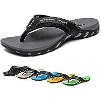Tuobuqu Men's Orthotic Flip Flops (multiple color)