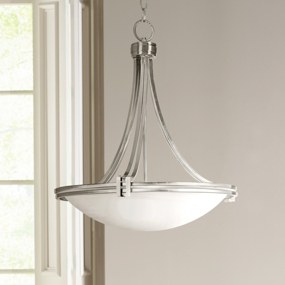 possini euro design lighting. Amazon.com: Possini Euro Design Deco Nickel 21 1/2\u0026quot; Wide Pendant Light: Home Improvement Lighting