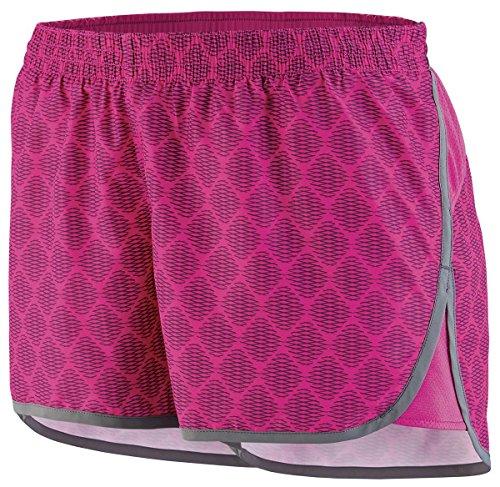 Augusta - Pantalón corto deportivo - para mujer Power Pink Plexus Print/Graphite