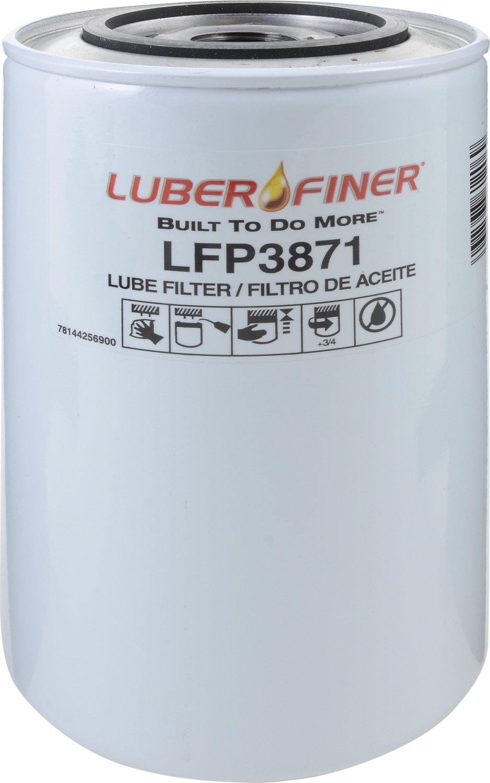 Luber-finer LFP3871-12PK Heavy Duty Oil Filter, 12 Pack