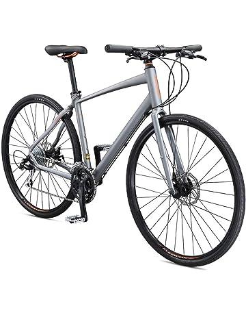 6de4ad8bb71 Schwinn Vantage F2 700c Sport Hybrid Road Bike with Flat Bar and Disc  Brakes, 56cm