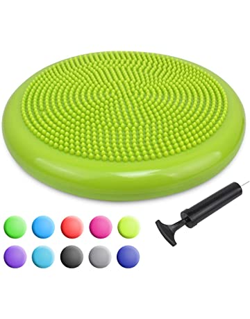 Trideer Inflated Stability Wobble Cushion with Pump, Flexible Seating Classroom, Extra Thick Core Balance