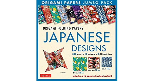 Amazon.com: Origami Folding Papers Jumbo Pack: Japanese ...