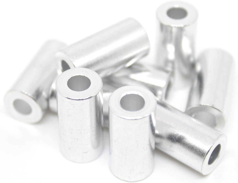 Spacer Multi-Packs for V-Slot Length 1//4 inch 6.35mm Aluminium Spacers M5//5mm 4