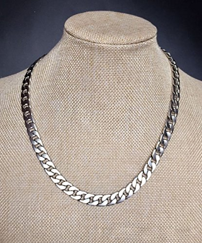 adecco-llc-ultra-luxury-look-feel-real-solid-14k-gold-plated-curb-chain-necklace-6mm-silver-20inch