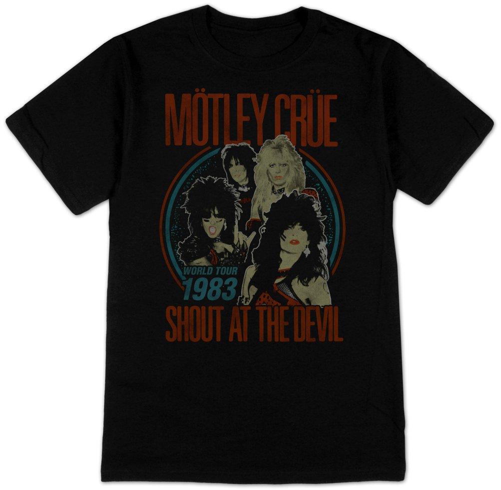 Crue Vintage Shout At The Devil T Shirt 1588
