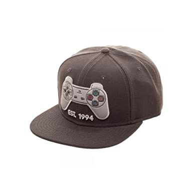 quality design cac56 cb32a Image Unavailable. Image not available for. Color  Superheroes Brand Sony  Playstation Controller Snapback Hat Cap