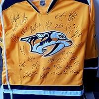 Nashville Predators 2016/17 Team Autographed Jersey