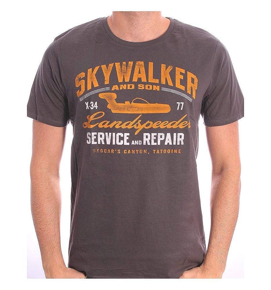 Tshirt Star Wars - Skywalker Landspeeder Repair cotton division 329
