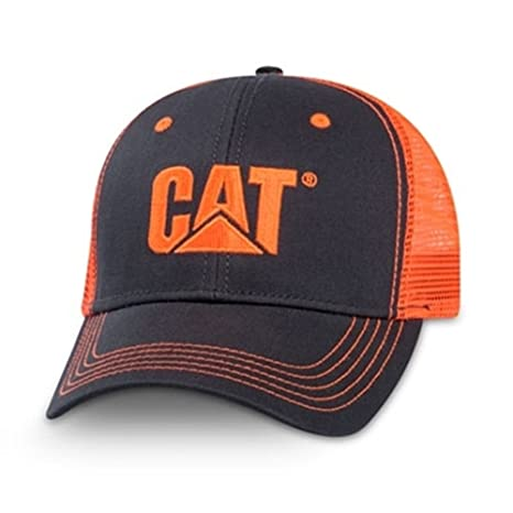 0927cfc1634 Amazon.com   Cat Caterpillar Equipment Neon Charcoal Orange Safety ...