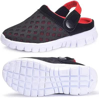 Zuecos Unisex Infantil Niños Niñas Clogs Verano Respirable Antideslizante Sandalia Piscina Jardín Zapatos 24-38: Amazon.es: Zapatos y complementos