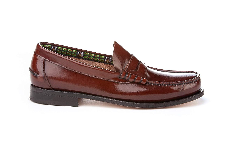 Mocasines Hombre de Piel. Zapatos Castellanos cómodos para Hombre. Disponibles Desde la Talla 40 hasta la Talla 45 - A&L Shoes Modelo 472: Amazon.es: ...