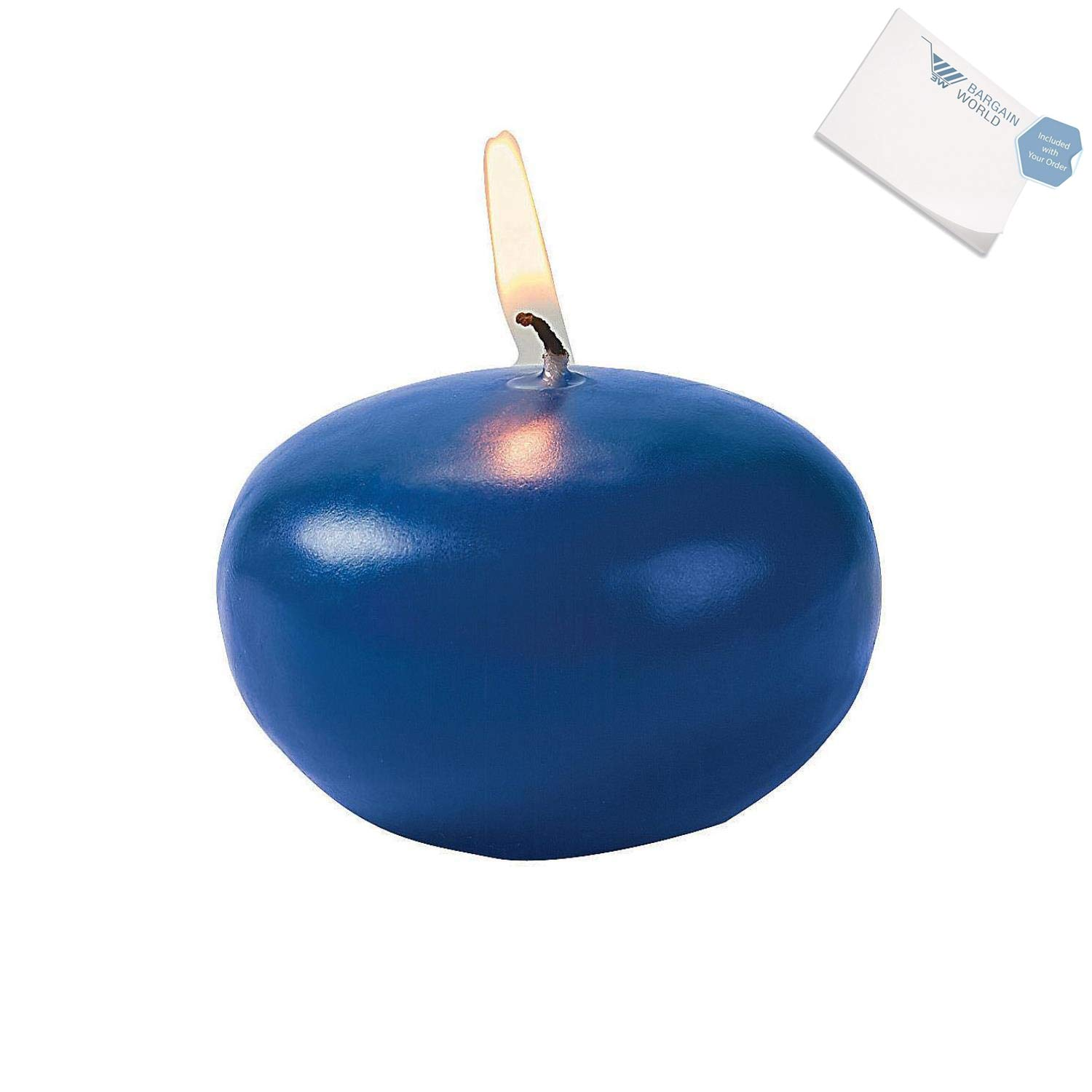 Bargain World Blue Floating Candles (With Sticky Notes)