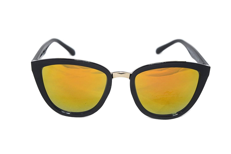 Gafas de sol Vannali mariposa mujer para verano (Negro ...