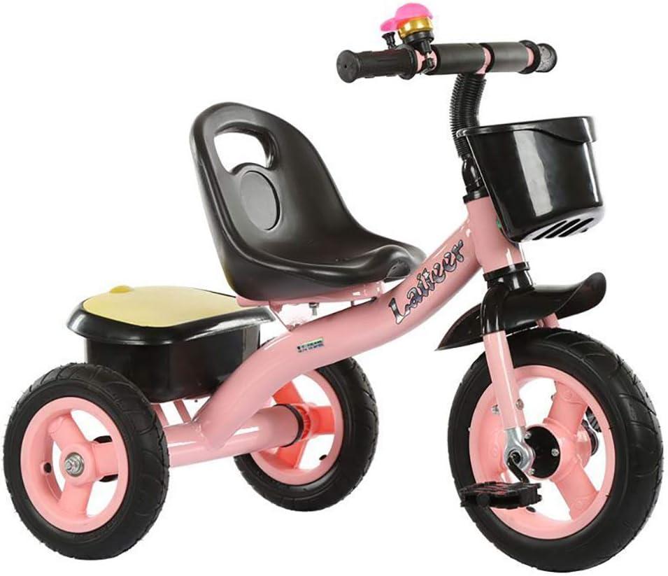 Aocean Triciclos Bebes Coche Triciclo Niño Bicicleta Bebe Evolutivo para Niños de 2-5 Años,Trike Bicicleta Control Parental Mango yRuedas de Gomas y Conducción Silenciosa Máx 30 kg