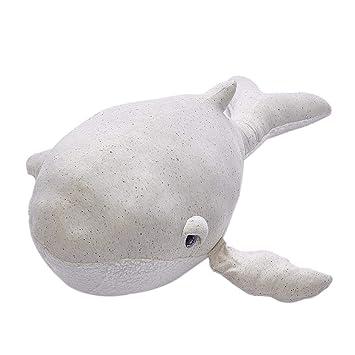 Liteness Peluches y Peluches de Peluche de Peluche de Delfines Suaves, Cojines de algodón Rellenos para Animales, Juguetes para niños, Cojines para bebés ...