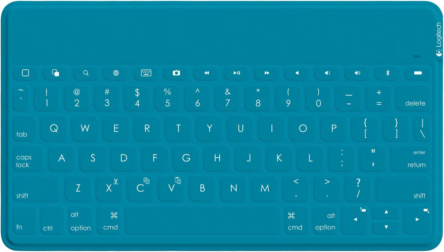 Logitech Keys To Go Ultra Portable Qwerty Tastatur Für Computer Zubehör