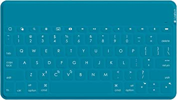 Logitech Keys-To-Go Teclado para móvil Inglés Cian Bluetooth ...