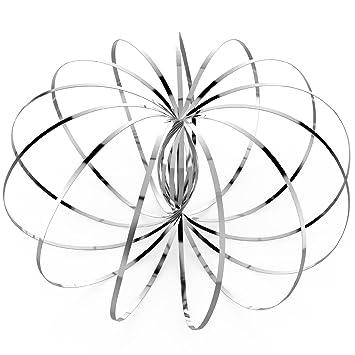 Anillo de flujo de pulsera - Asgens Spinner Ring Hands Juguete de brazo -  Plata Flow 563392ae15c