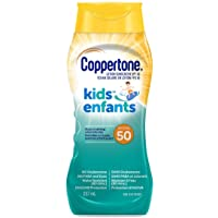 Coppertone Kids Sunscreen Lotion Spf 50, Hypoallergenic Sun Protection for Children, Water Resistant Face and Body…