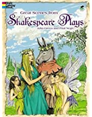 Great Scenes from Shakespeare's Plays (Doyer Colouring Book )