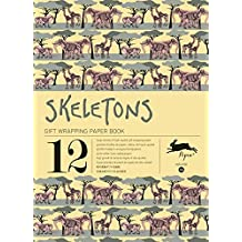 Skeletons : Gift and creative paper book Vol.14 (Gift Wrapping Paper Book) (English, French, Italian, Dutch, Spanish, Japanese and Chinese Edition)